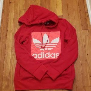 Adidas logo hoodie sweatshirt